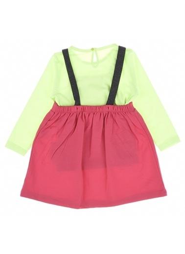 Divonette Divonette Mevsimlik Gülenyüz Nakışlı Badili Elbise-Antrasit Divonette Mevsimlik Gülenyüz Nakışlı Badili Elbise-Antrasit Pembe